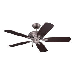 Emerson Ceiling Fans - Emerson Ceiling Fans CF810AP Emerson  CF810AP  Antique Pewter with Dark Mahogany - Emerson CF810 Avondale 52-in Ceiling Fan The simple adornment captured in the grill design of the Avondale ceiling fan, which is also mimicked on the