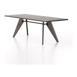 Vitra - Table Solvay, 86-Inch   Vitra - Design by Jean Prouvé, 1941.