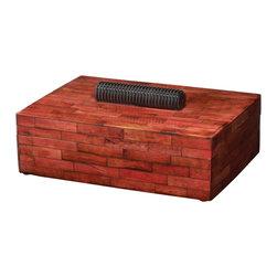Lazy Susan - Fiery Bone Box, Large - -Handcrafted