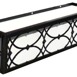 """Canterbury Window Boxes - Our Canterbury Window Boxes are perfect for historical styles and modern revitalized styles of architecture. They can be installed on any surface with the use of lag screws (sold separately). Follow our """"how to install window boxes"""" tips for safe and secure installation."""