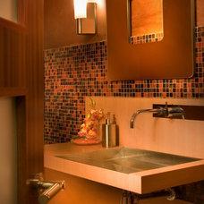 Modern Powder Room by DKOR Interiors Inc.- Interior Designers Miami, FL