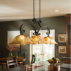 Traditional Kitchen Lighting And Cabinet Lighting by HomeThangs