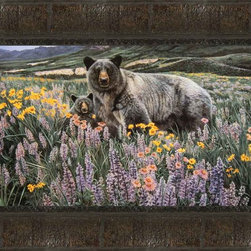 Spring Time Framed Print - Print has a protective textured finish applied to it, giving it the look and feel of canvas. There is no need for glass.