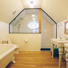 Contemporary Bathroom by Monetti Custom Homes