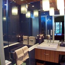 Contemporary Bathroom by EAG Studio