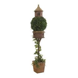 Silk Plants Direct - Silk Plants Direct Ivy Topiary (Pack of 1) - Pack of 1. Silk Plants Direct specializes in manufacturing, design and supply of the most life-like, premium quality artificial plants, trees, flowers, arrangements, topiaries and containers for home, office and commercial use. Our Ivy Topiary includes the following: