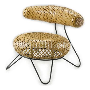 Bamboo Basket Chair -