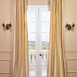 Belmont Silk Taffeta Stripe Curtain - Our 100% silk drapes & curtains represent extravagant luxury at unbeatable prices. Our team of designers have worked tirelessly to find the best colors & patterns to make our selection truly the largest in the market today.