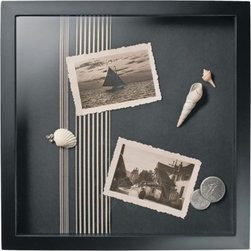 Room Essentials Shadowbox Frame, Black - I love shadow boxes, even though they might seem cheesy. They're perfect for displaying mementos on the wall instead of letting them fill up precious drawer space.