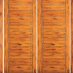 "Knotty Alder Exterior Prehung Double Door with Two Sidelites, Flush - SKU#SW-88-53_2-2BrandAAWDoor TypeExteriorManufacturer CollectionWestern-Santa Fe Entry DoorsDoor ModelDoor MaterialWoodWoodgrainKnotty AlderVeneerPrice3962.4Door Size Options2(30"")+2(18"") x 80"" (8'-0"" x 6'-8"")  $02(32"")+2(18"") x 80"" (8'-4"" x 6'-8"")  $02(36"")+2(18"") x 80"" (9'-0"" x 6'-8"")  +$202(42"")+2(18"") x 80"" (10'-0"" x 6'-8"")  +$2002(30"")+2(18"") x 96"" (8'-0"" x 8'-0"")  +$774.42(32"")+2(18"") x 96"" (8'-4"" x 8'-0"")  +$774.42(36"")+2(18"") x 96"" (9'-0"" x 8'-0"")  +$814.42(42"")+2(18"") x 96"" (10'-0"" x 8'-0"")  +$1134.4Core TypeSolidDoor StyleRusticDoor Lite StyleDoor Panel StyleFlush Panel , V-GroovedHome Style MatchingSouthwest , Log , Pueblo , WesternDoor ConstructionTrue Stile and RailPrehanging OptionsPrehungPrehung ConfigurationDouble Door with Two SidelitesDoor Thickness (Inches)1.75Glass Thickness (Inches)Glass TypeGlass CamingGlass FeaturesGlass StyleGlass TextureGlass ObscurityDoor FeaturesDoor ApprovalsDoor FinishesDoor AccessoriesWeight (lbs)1190Crating Size25"" (w)x 108"" (l)x 52"" (h)Lead TimeSlab Doors: 7 daysPrehung:14 daysPrefinished, PreHung:21 daysWarranty1 Year Limited Manufacturer WarrantyHere you can download warranty PDF document."