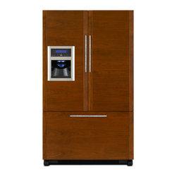 Jenn-Air French Door Refrigerator, Custom Panel   JFI2089WTS - ICE & WATER DISPENSER W/ FILTRATION