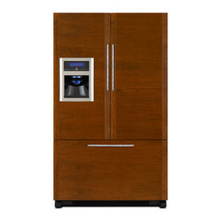 Jenn-Air French Door Refrigerator, Custom Panel | JFI2089WTS - ICE & WATER DISPENSER W/ FILTRATION
