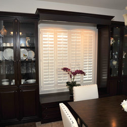 China Cabinet in Dark Cherry - This is the original Lift and Stor Bed.  Create storage bed right under your nose!!