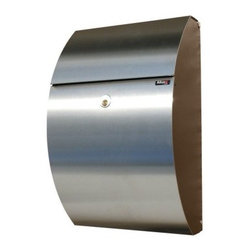 QualArc Allux 7000 Steel Wall Mounted Mailbox - The QualArc Allux 7000 Steel Wall Mounted Mailbox brings a modern elegance and impeccable security that other mailboxes don't. It's a well-designed unit with a smooth elliptical shape crafted from galvanized steel and a heavy-duty cam lock that offers peace of mind. Measures 15L x 9W x 6.75H inches and mounts easily to any wall.About QualArcBased in Rancho Cordova, California, QualArc makes the things that mark your home. Using unique and beautiful weatherproof materials and industry-standard manufacturing processes, they create address plaques, mailboxes, and more that are built to last. Stone, aluminum, steel, granite and more come together to create high-quality markers with high curb appeal. It's easy for friends and family to find your house when it's marked with a QualArc product.