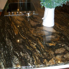 Traditional Kitchen Countertops by atdesigns