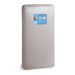 Sealy - Sealy Baby Firm Rest Crib Mattress Multicolor - EM438-VIV1 - Shop for Mattresses from Hayneedle.com! Lullabyes are in order as you lie your precious child down for a nap or for the evening on the Sealy Baby Firm Rest Crib Mattress. This bedding staple will work well in a crib and transitions easily to fit a toddler bed frame. The 204 interwoven steel coils will sense your baby's movement and responds with increased support. Full perimeter border wire keeps the edges firm and weight distribution bars help prevent sagging. The Staph-Gard reinforced laminate cover provides antibacterial and an anti-static surface which is cleaned with just a wipe. By choosing this soft supportive mattress you're providing your baby years of good nights.