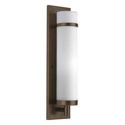 Progress Lighting - Progress Lighting P7082-20 Single Light Wall Sconce Antique Bronze - Features:
