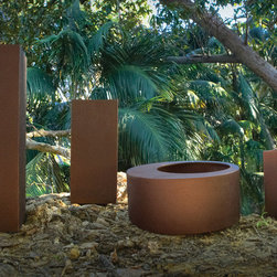 Urban Nature Planters in Copper - Premium modern planters for upscale indoor and outdoor spaces.