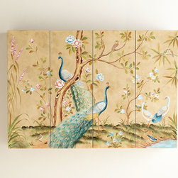 Peacock Wall Cabinet -