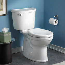 American Standard Champion PRO Right Height Elongated Toilet - •Features Champion® Flushing System
