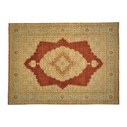 1800-Get-A-Rug - Antiqued Tabriz Hand Knotted Rug Vegetable Dyes Sh12089 - About Fine Oriental