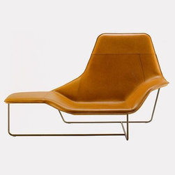 Zanotta Lama Lounge Chair By Ludovica And Roberto Palomba - I love a two-for. This piece serves as a chair when you're feeling like being a bit more vertical, but you can swing around 90 degrees and put your tired legs up when you need to. All this and a supercool shape and gorgeous upholstery. Sold!