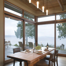 Contemporary Dining Room by Scott Allen Architecture