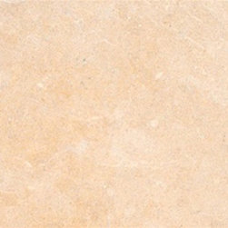 """Halila Limestone Honed Marble Floor & Wall Tiles 12"""" x 12"""" - Lot of 40 Tiles - 12"""" x 12"""" Halila Limestone Honed Marble Floor and Wall Tile is a great way to enhance your decor with a traditional aesthetic touch. This polished tile is constructed from durable, impervious marble material, comes in a smooth, unglazed finish and is suitable for installation on floors, walls and countertops in commercial and residential spaces such as bathrooms and kitchens."""