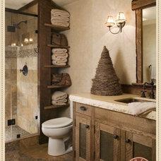 Showlow Cabin / cute bathroom