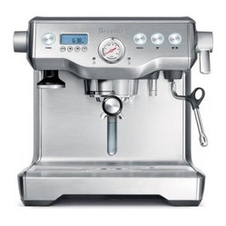 Breville Stainless Steel Dual Boiler Espresso and Cappuccino Machine
