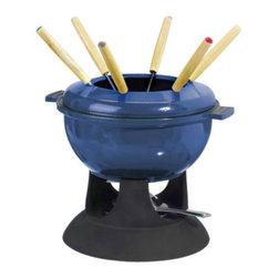 IKEA of Sweden - SENIOR Fondue set - Fondue set, blue, black