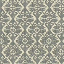Country Cabin Fabric by  Robert Allen - There's something a bit tribal yet a bit country about this fabric from Robert Allen. Over a large piece, a diamond pattern within it emerges.