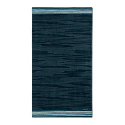 Missoni Home - Missoni Home | Liam Blue Beach Towel - Design by Rosita Missoni.