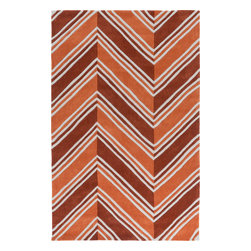 """Surya - Surya Opera OPR-6003 (Orange, Burnt Orange) 3'3"""" x 5'3"""" Rug - This Hand Tufted rug would make a great addition to any room in the house. The plush feel and durability of this rug will make it a must for your home. Free Shipping - Quick Delivery - Satisfaction Guaranteed"""