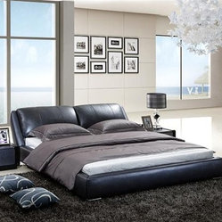 Paulson Signature Leather Bed Frame