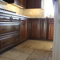 Traditional Trash Bin Kitchen Cabinetry: Find Kitchen ...