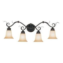 Millennium Lighting - Millennium Lighting 7054 Roanoke 4 Light Bathroom Vanity Light - Features: