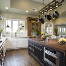 Kitchen island with seating area | Cultivate
