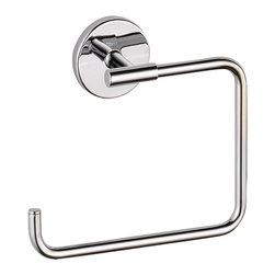Delta Towel Ring - 759460 - The design was inspired by the sleek elegance of modern European design.