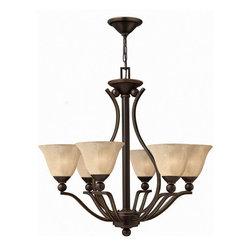 Hinkley Lighting - Hinkley Lighting 4656OB Bolla Olde Bronze 6 Light Chandelier - Hinkley Lighting 4656OB Bolla Olde Bronze 6 Light Chandelier
