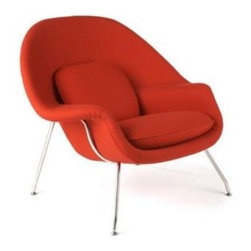 Wombat Lounge Chair - The Wombat lounge chair is a classic modern reproduction of Saarinen's Womb chair, which was originally created in 1948. It's famous for its Scandinavian design and extreme comfort.