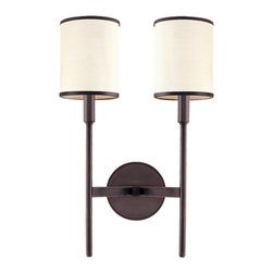 Aberdeen 2 Light Wall Sconce by Hudson Valley Lighting -