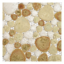 Home Elements - Porcelain Pebble Tile, 1 Square Foot - Product Description:
