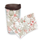 Tervis - Tervis Heart Vine Wrap 16-Ounce Tumbler with Lid - This design has the ability to wrap itself around your heart. Tervis Tumblers are made with double walled insulation to keep hot drinks hot and cold drinks cold.