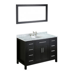 "Bosconi - Bosconi SB-252-3 47"" Contemporary Single Vanity - Bosconi SB-252-3 47"" Contemporary Single Vanity"