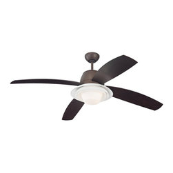 "Monte Carlo Fan - Monte Carlo Fan Icon 52"" Transitional Ceiling Fan X-DBR25RCI4 - Monte Carlo Fan Icon 52"" Transitional Ceiling Fan X-DBR25RCI4"