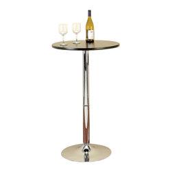 "BZBZ87003 - Metal Bar Table 40""H, 24""W - Metal bar Table 40""H, 24""W"
