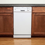 EdgeStar - EdgeStar Energy Star White 18-inch Built-in Dishwasher - This compact 18-inch built-in Energy Start dishwasher from EdgeStar features a sleek size that is suitable for smaller spaces while offering a generous interior that can efficiently accommodate up to eight place settings.