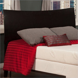 Atlantic Furniture - Atlantic Furniture Soho Twin Headboard in Espresso-King - Atlantic Furniture - Headboards - R191851 - The Soho headboard is a curved sleigh style bed with an exquisite finish. The Soho is very rugged and doesnt fall short with its looks.