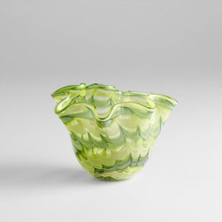 Cyan Design - Francisco Bowl - Small - Small francisco bowl - green and yellow